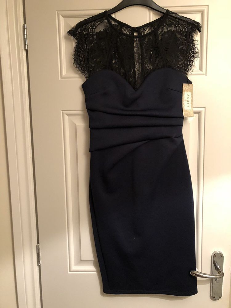 96e6d6ba8f9 Navy And Black Lipsy Dress Size 8 Brand New  fashion  clothes  shoes   accessories  womensclothing  dresses (ebay link)