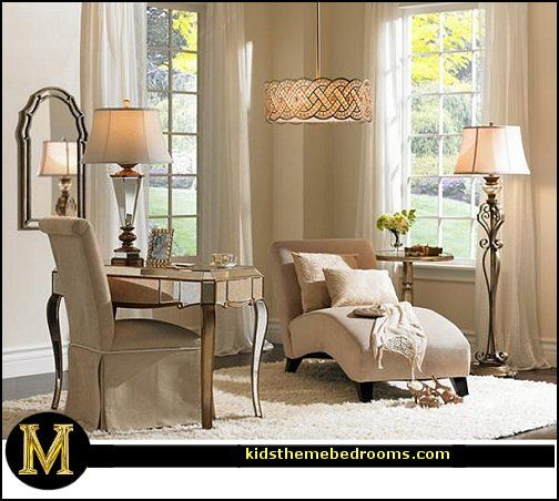 Decorating theme bedrooms - Maries Manor Hollywood glam living