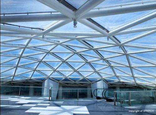 Etfe Grid Shell Roof System Architektura Pinterest