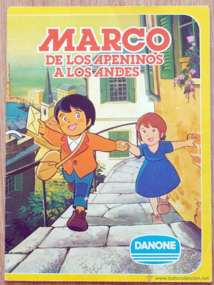 Album Cromos Marco De Los Apeninos A Los Andes Danone Excelente Conservacion Recuerdos De La Infancia Dibujos De Los 80 Infancia