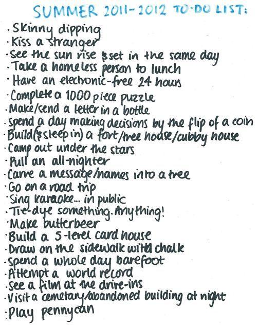 graphic about Bucket List Tumblr titled Summer season Summer season Sunlight Summertime enjoyment listing, Bucket checklist