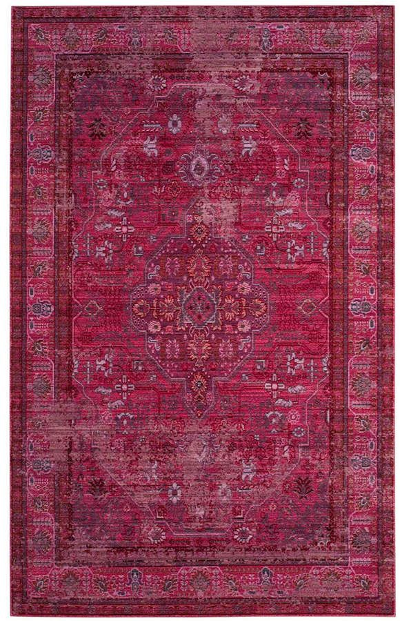 Safavieh Valencia Red And Multi 4 X 6 Area Rug Reviews Rugs Macy S Area Rugs Cheap
