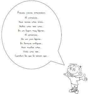 Frases Para Empezar Un Cuento Cuentos Lenguaje Y Aprendizaje