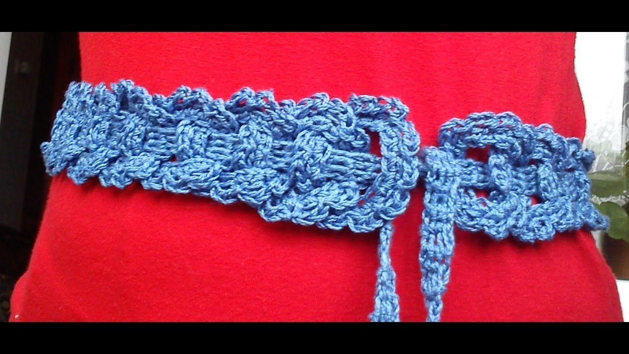 Crochet headband crochet. Master Class
