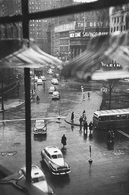 Union Square, New York City, 1950 by Louis Faurer