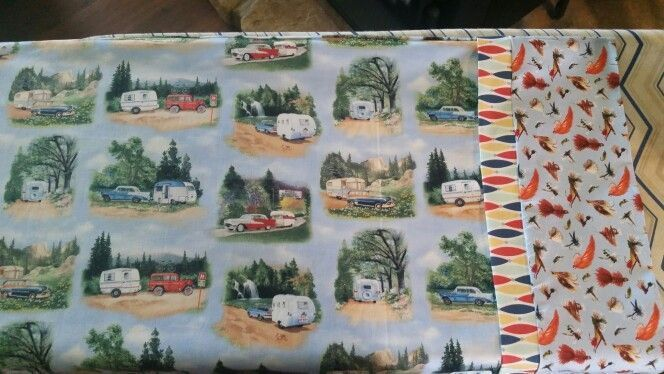 French Seam Pillow Case,  Vintage campers,  fishing lures :  French Seam Pillow ... :  French Seam