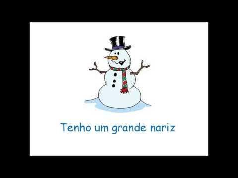Inverno Sou Um Boneco De Neve Nova Versao Youtube Boneco