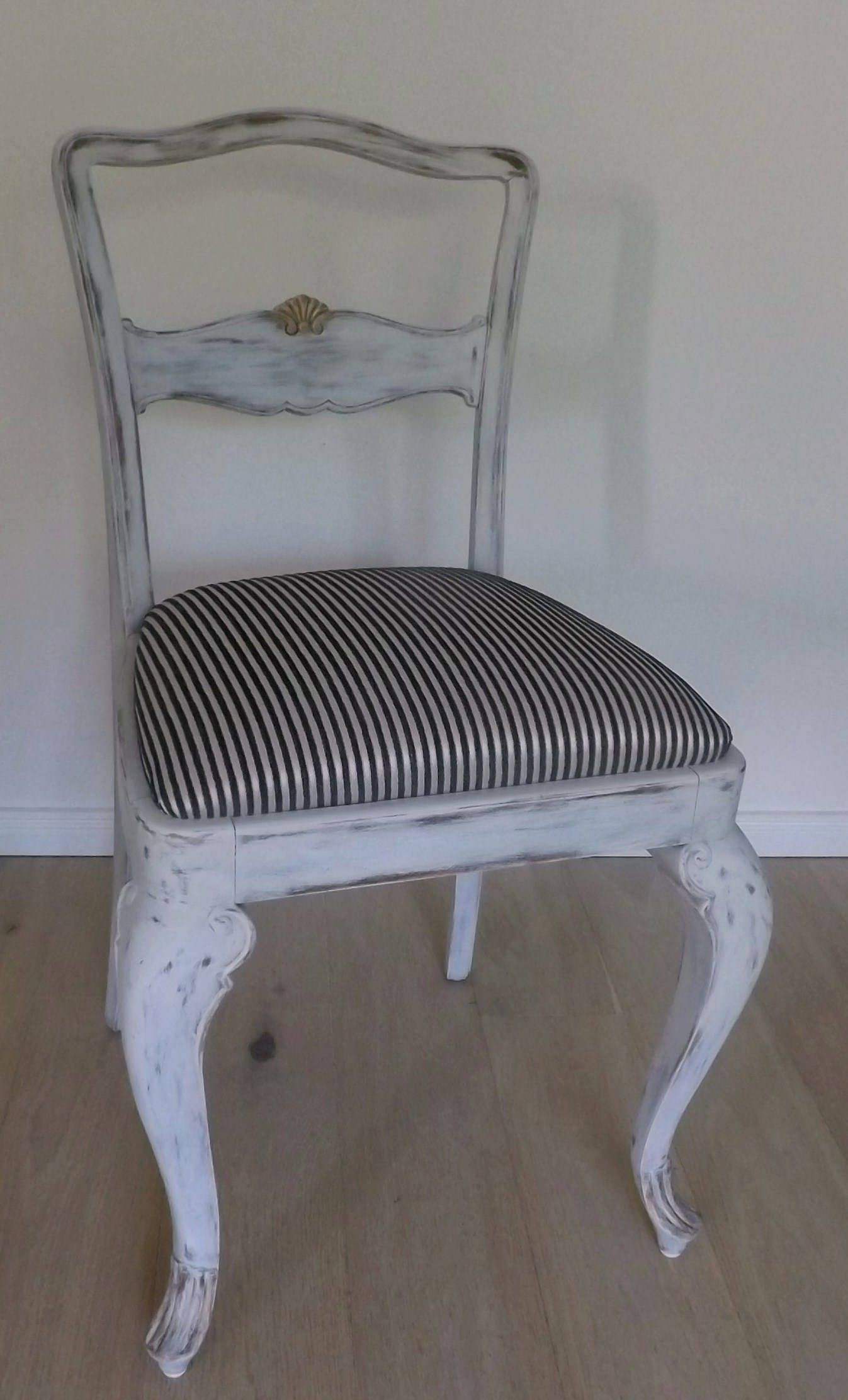 Antique Chair Shabby Chic Newly Upholstered Shabby Chic Möbel