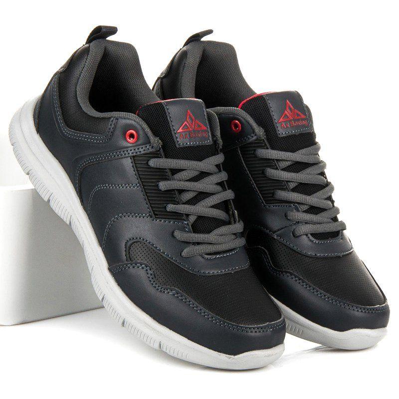 Sportowe Meskie Axboxing Szare Obuwie Sportowe Meskie Ax Boxing Shoes Saucony Sneaker Men S Shoes