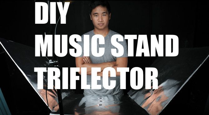 Feature image Diy Music Stand Triflector1