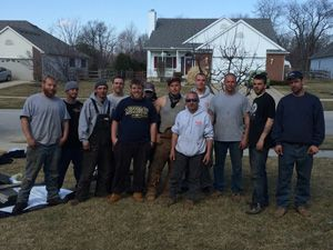 4 Guys And A Roof Crew Roofing Jobs Roofer Roofing