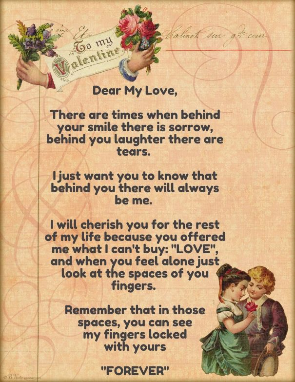 love letters for her Cute Love Quotes for Her – Love Letter for Her