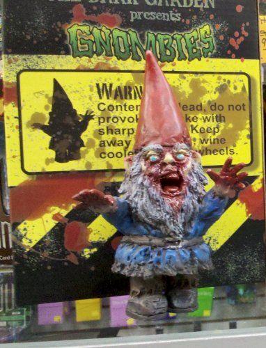 Garden Gnomes On Sale: Gnombie Mini Zombie Garden Gnome