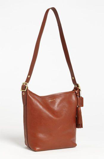 3ae017d5d5 ugh godd lusting so damn hard part 1 COACH  Legacy Duffle  Tasseled Leather  Shoulder Bag
