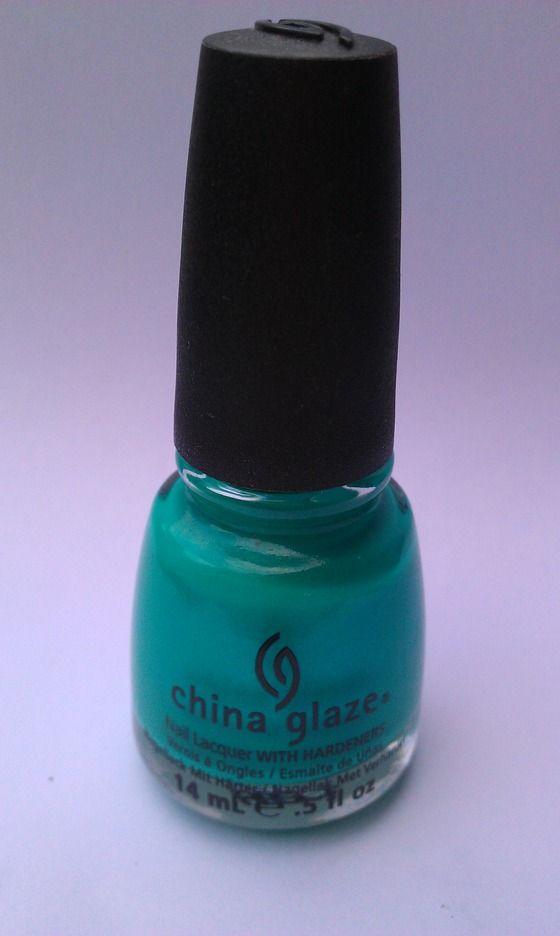 China Glaze Turned Up Turquoise - FREE SHIPPING $7.50