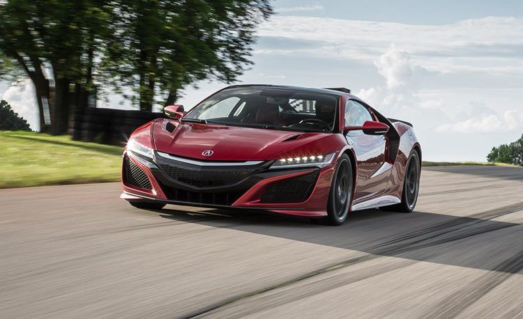 The 2018 Acura NSX is Comprised of Power, Handling and