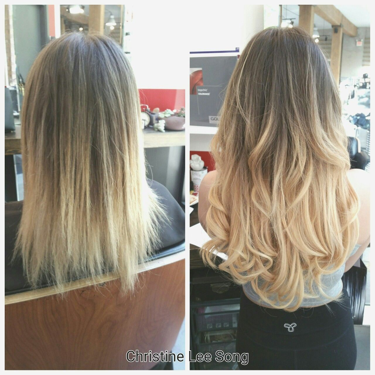 Individual prebonded keratin fusion hair extensions are