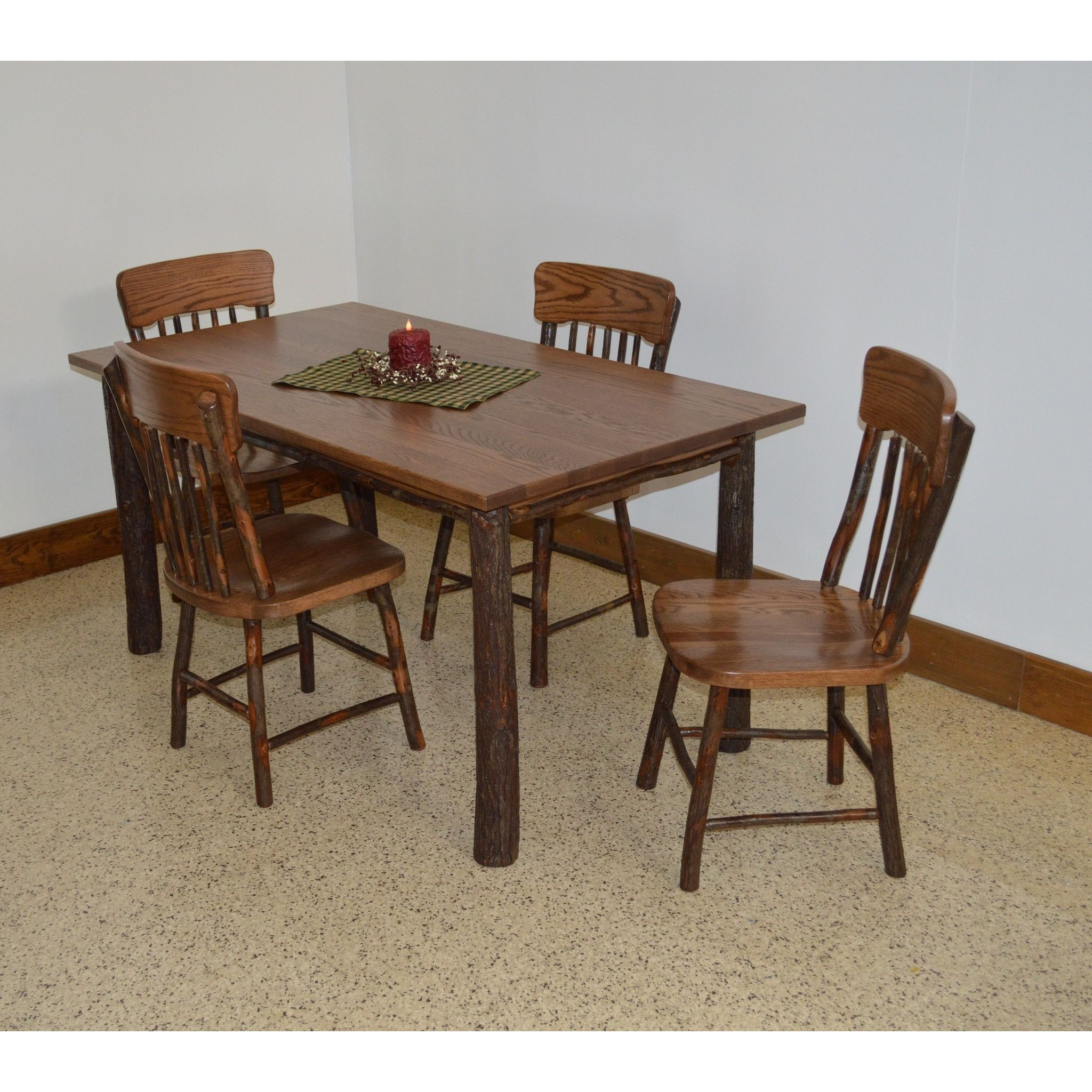 A u l furniture co hickory piece farm table dining set products
