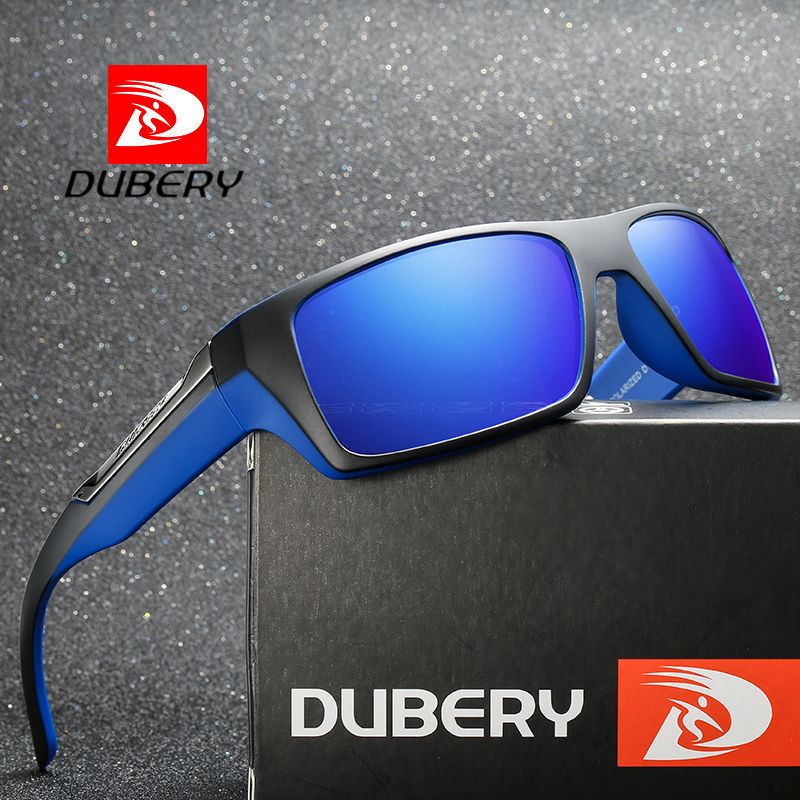 f347a656494 DUBERY Polarized Sunglasses Men Driving Shades Male Retro Sun Glasses For  Men Summer Mirror Fashion Luxury Brand Designer UV400 Review