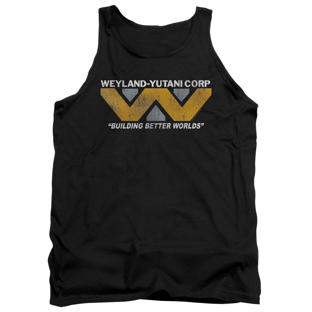 """Checkout our #LicensedGear products FREE SHIPPING + 10% OFF Coupon Code """"Official"""" Alien / Weyland-adult Tank - Alien / Weyland-adult Tank - Price: $29.99. Buy now at https://officiallylicensedgear.com/alien-weyland-adult-tank"""
