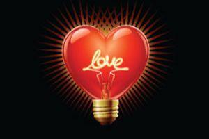 Love Heart Lightbulb