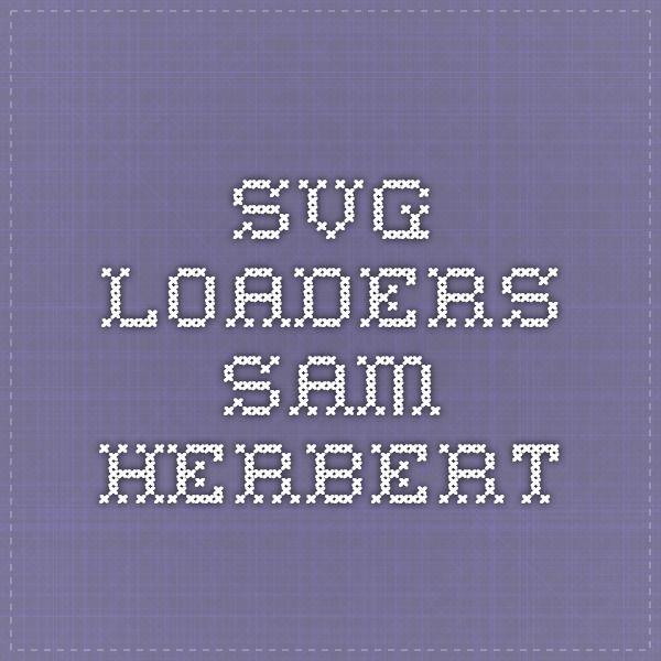 c11b70c52c4e9 SVG Loaders - Sam Herbert Diseño Web