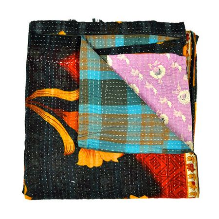I pinned this Baka Silk Kantha Quilt from the Shilpa Rathi event at Joss and Main!