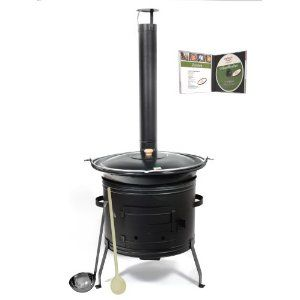 Eine 30 Liter Gulaschkanone für den Garten. Kann natürlich auch ideal im Winter für Glühwein und warme Speisen verwendet werden. Auf jeder Party ein absoluter Hit.