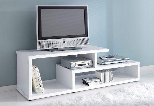 Mesa para tv mueble de entretenimiento ideas para el for Mesas de televisor modernas