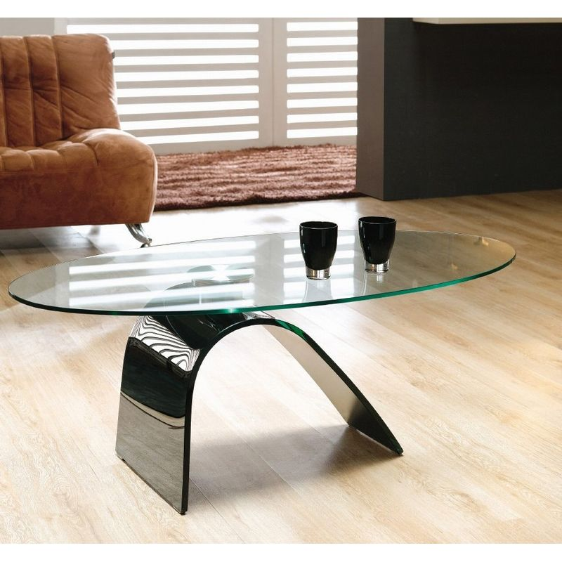 This Modern Style Coffee Table Is Constructed From Mm Thick - Island style coffee table