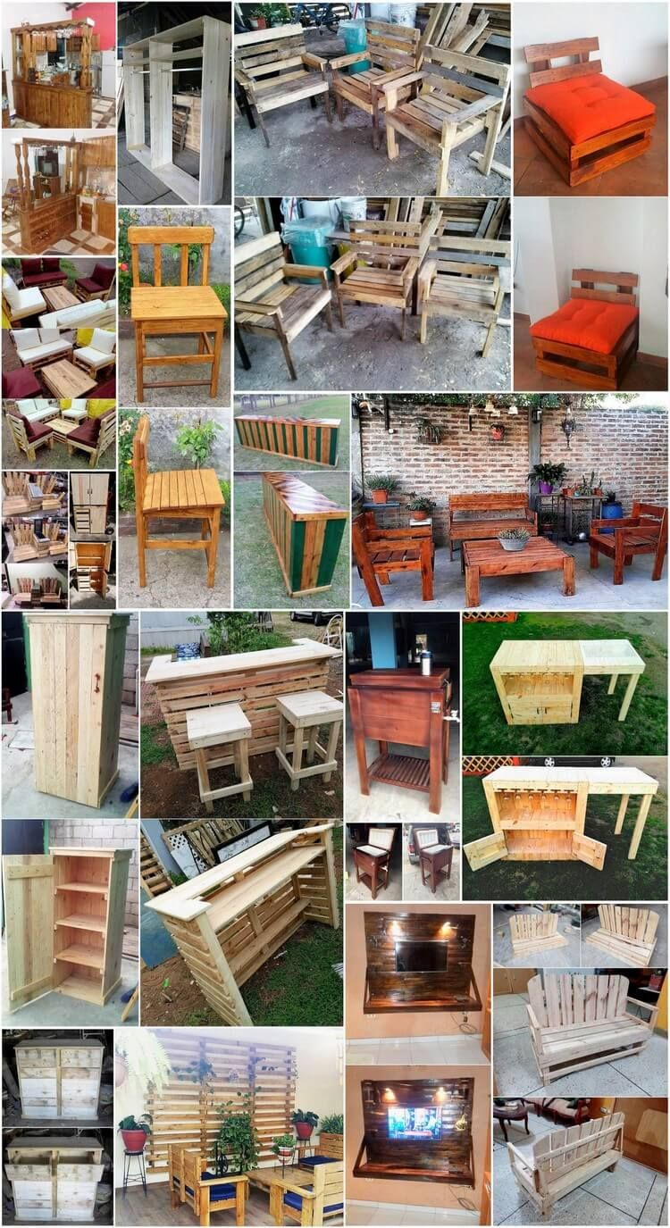 Clever Ways to Reuse Used Wooden Pallets | Holzpaletten, Wohnkultur ...