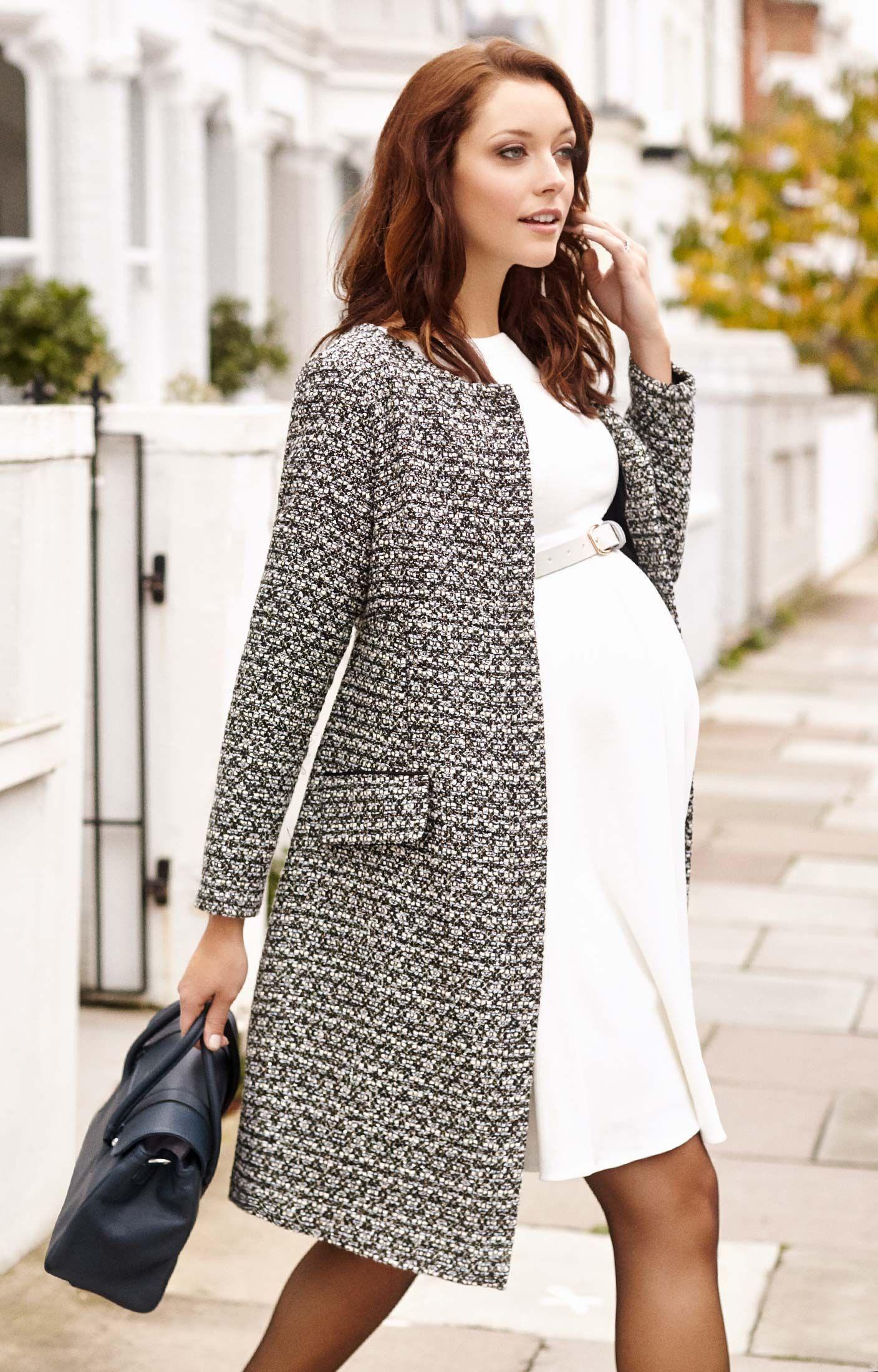 bcd9c2bbd Verity Coat in 2019   Winter Maternity Looks   Maternity coat ...