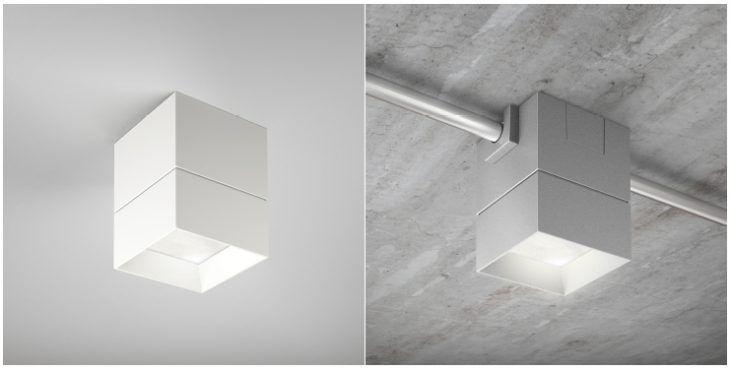 Image Result For Flush Mount Led Light On Loft Concrete Ceiling