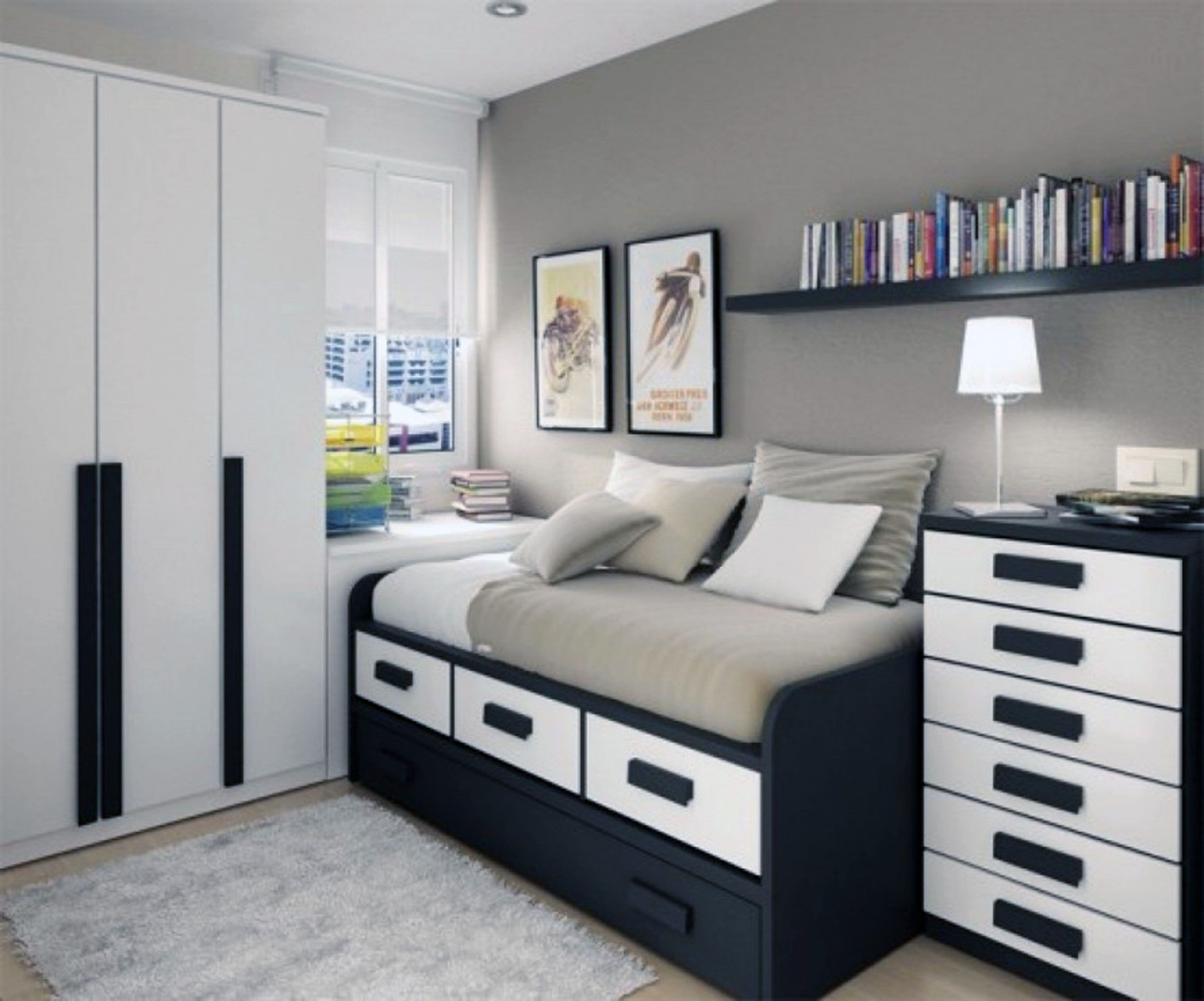 15 New Ideas Teenage Bedroom Furniture For Small Rooms In 2020 Small Bedroom Inspiration Small Bedroom Designs Bedroom Layouts