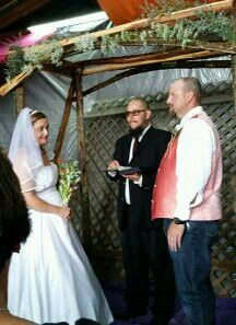 Our daughter's wedding