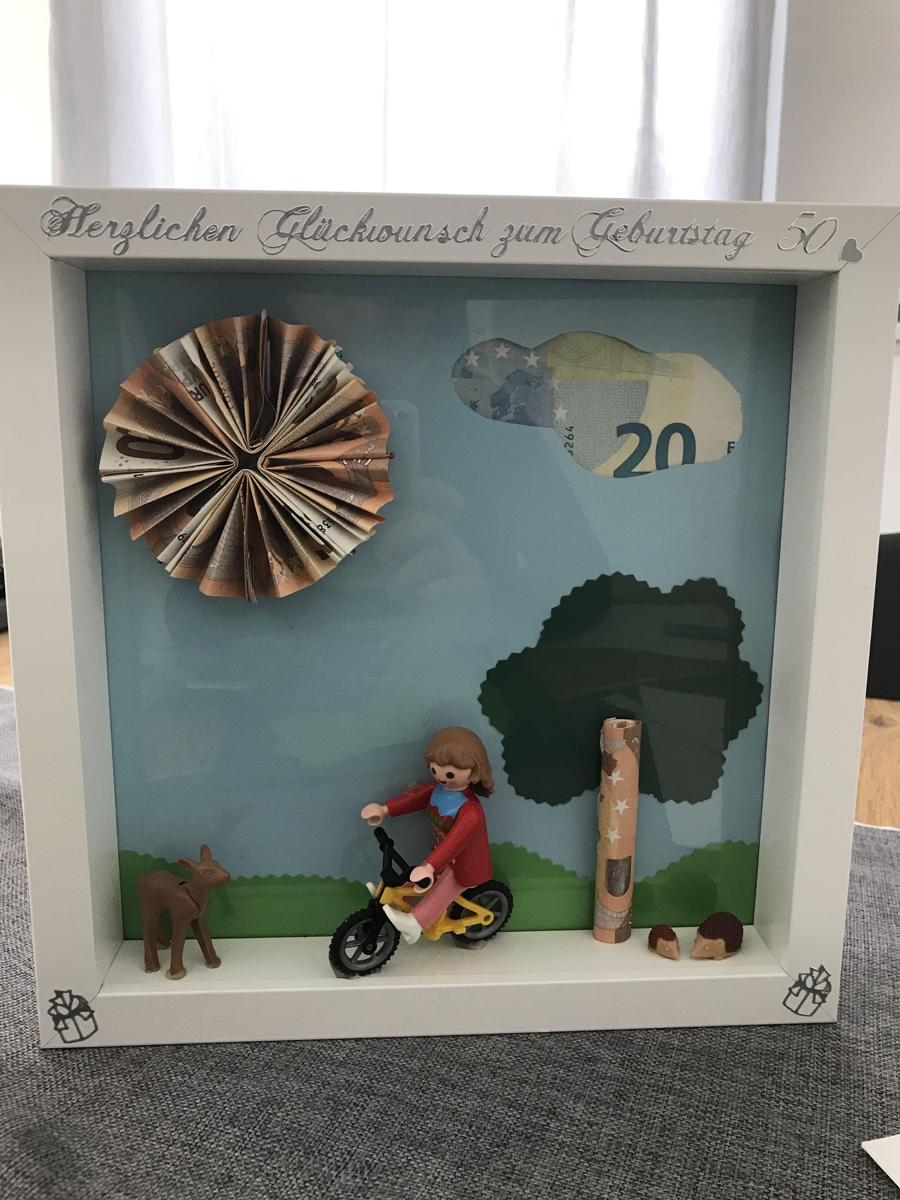 Geldgeschenk zum 50. Geburtstag - Zuschuss zum Fahrrad ...
