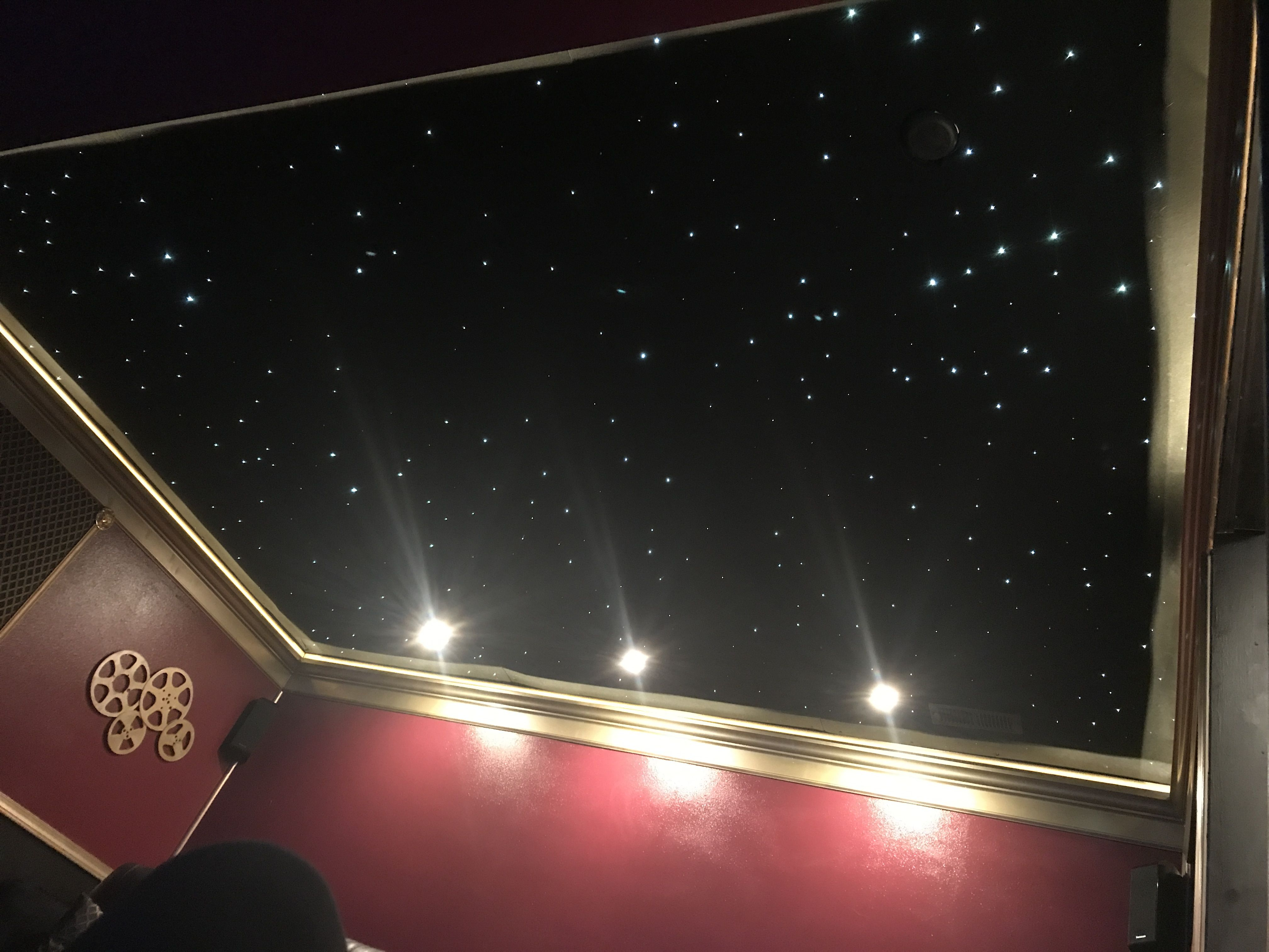 Star Ceiling #fiberoptic #hometheater | Star ceiling ...