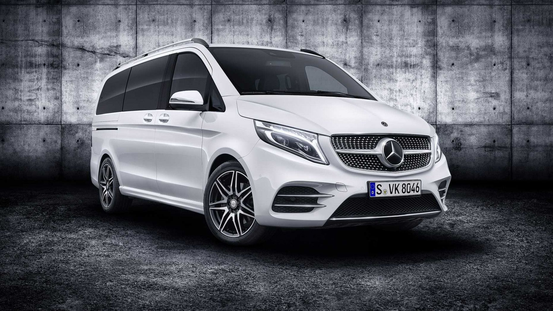 9 Mercedes V Class Vip Klassen Performance And New Engine With