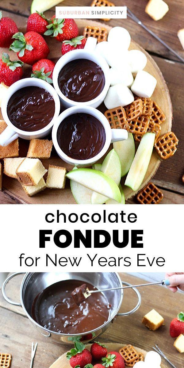 Easy Chocolate Caramel Fondue | Recipe | Easy chocolate ...