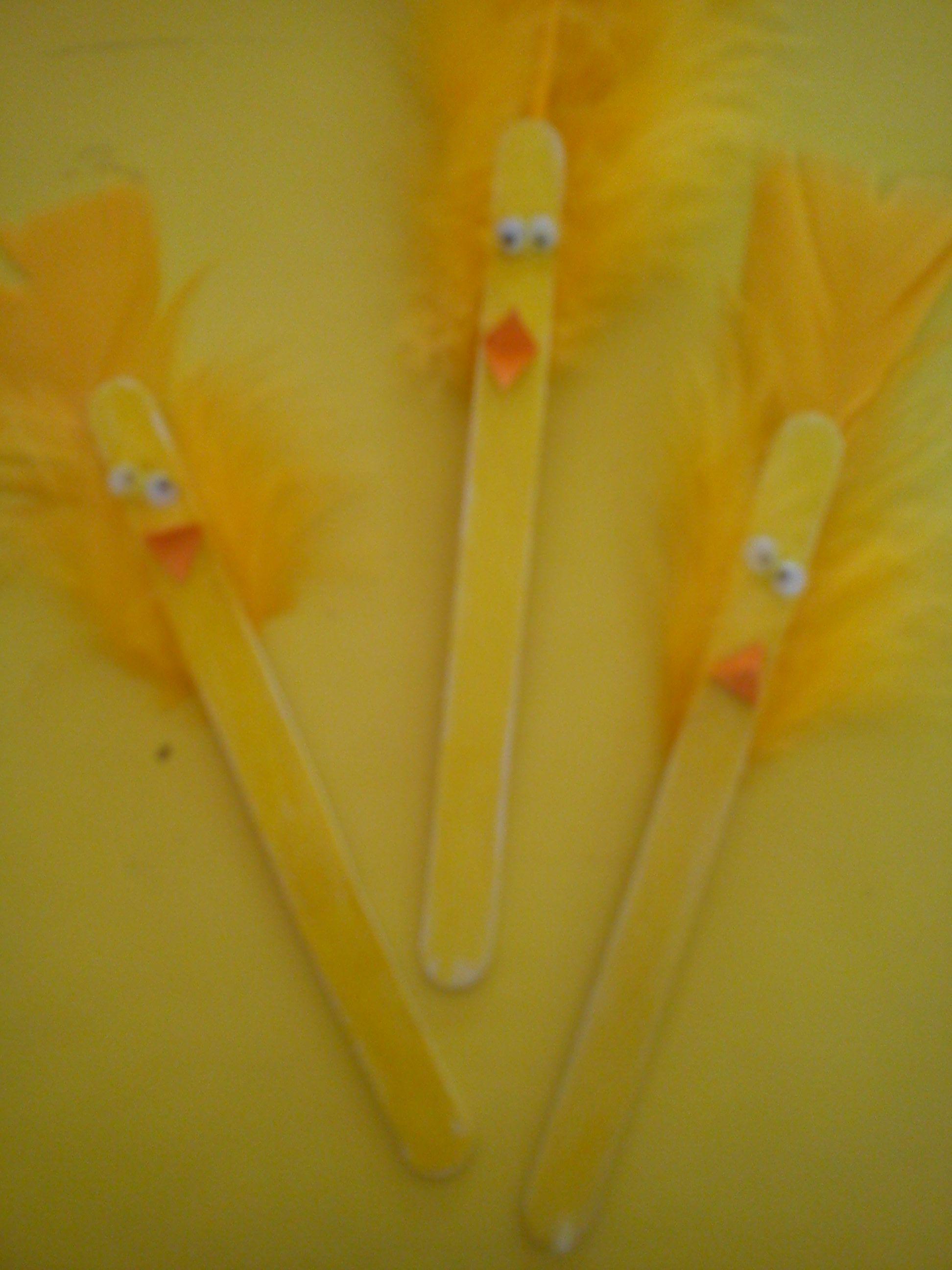 Super Simple Craft Stick Ducks Idea From Activity