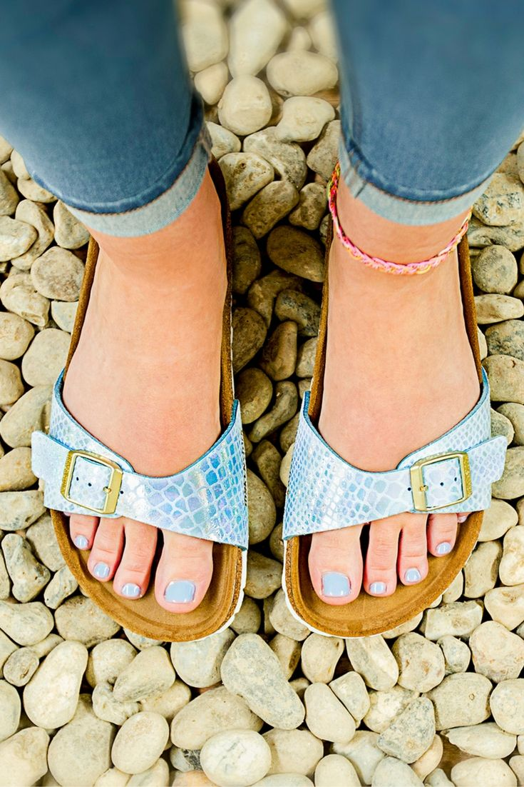 Be a mermaid and make waves...or invest in these Birkenstocks 5484552366d