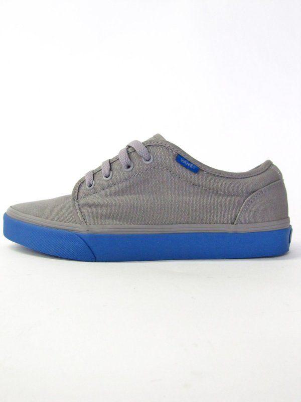 35465acab4fcb Vans shoes 106 Vulcanized (Grey / Blue) Want so bad!!!!   Shoe ...