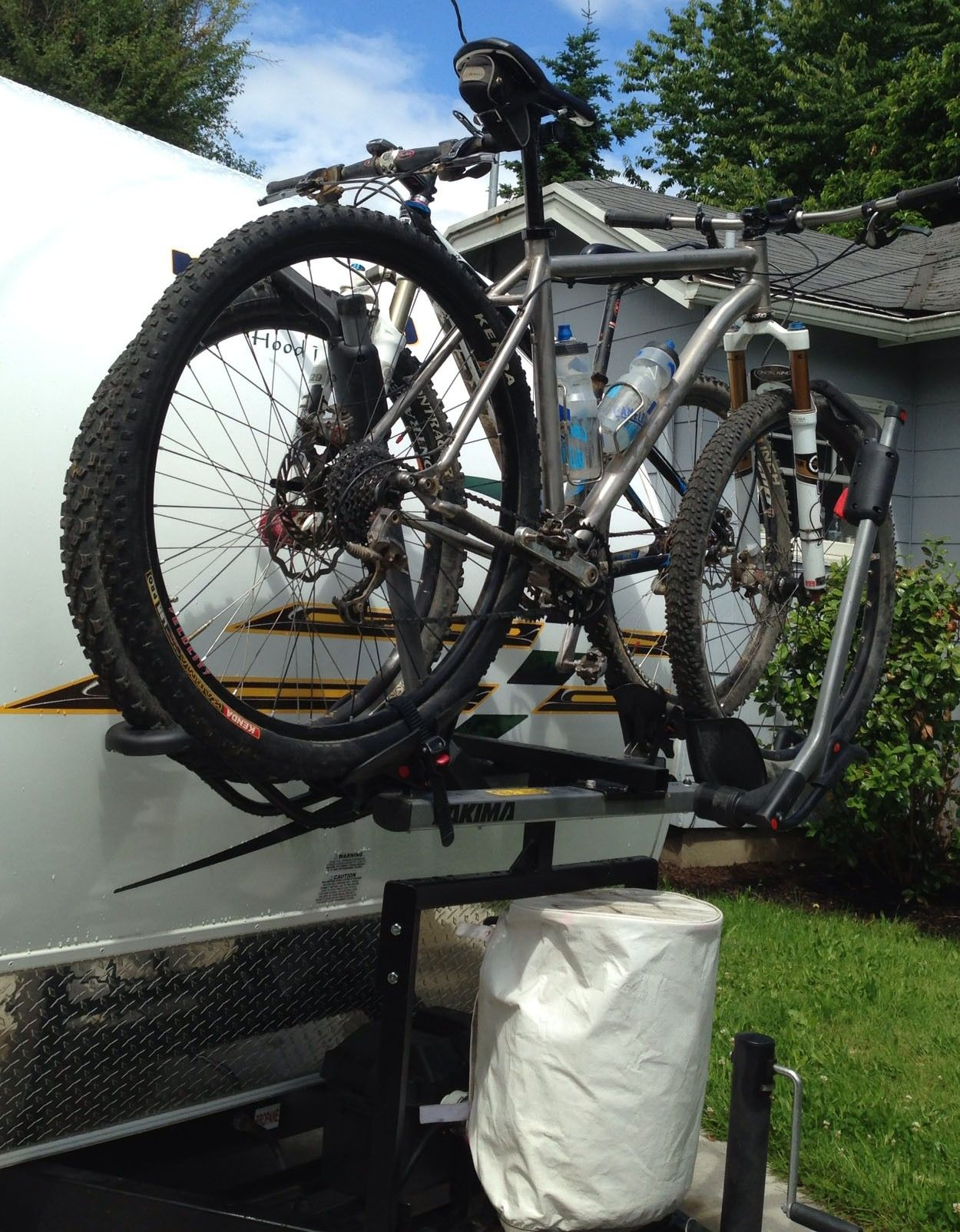 30+ Awesome Camper Bike Rack Ideas Go Travels Plan