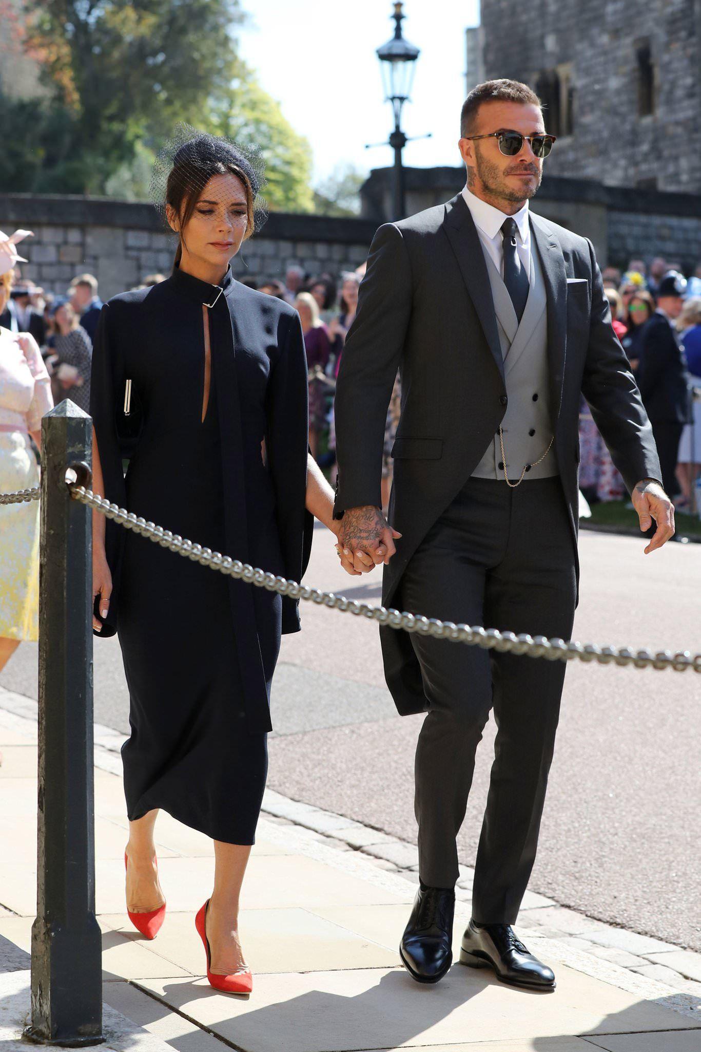 david beckham at the royal wedding. cool as ice. : pics