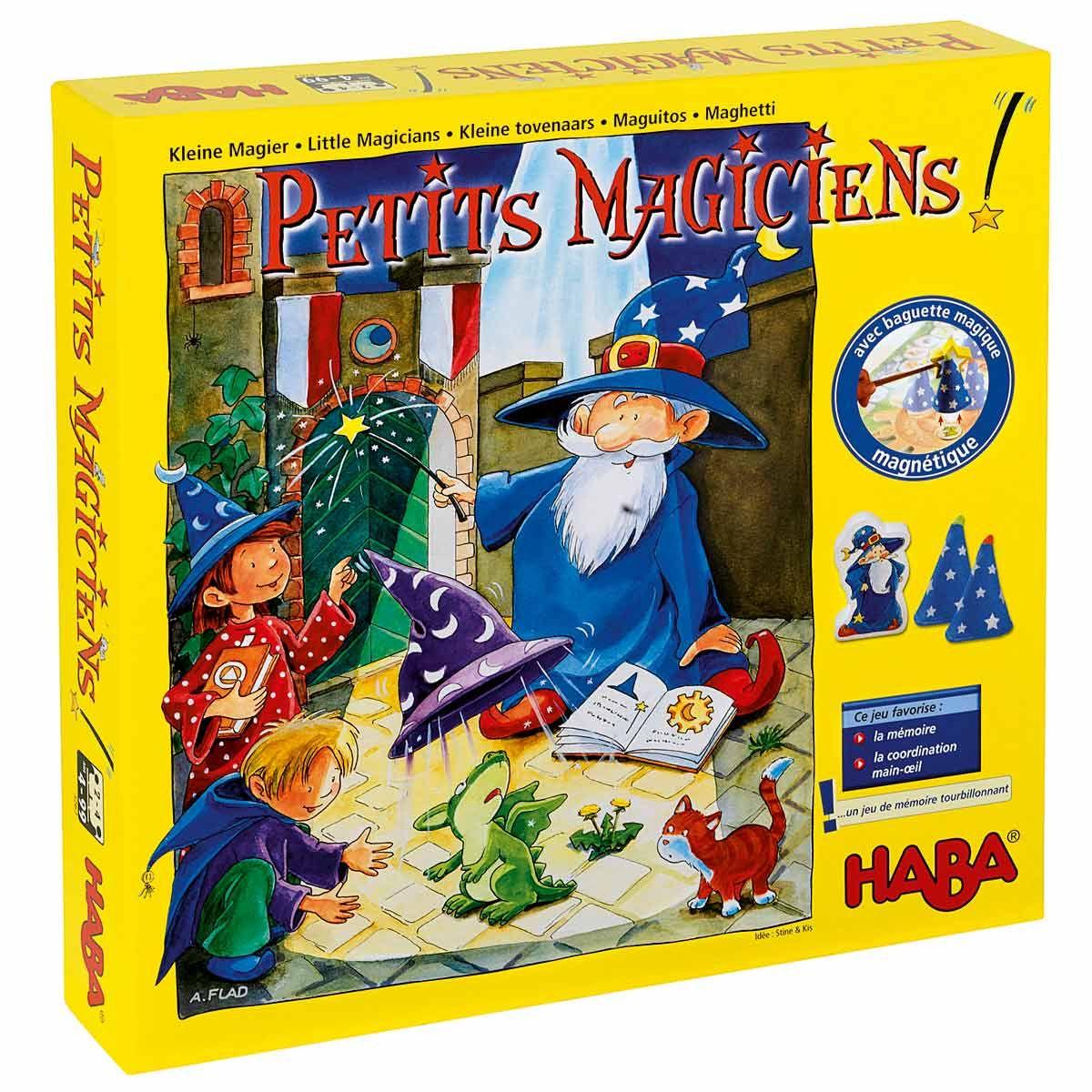 Jeu de société Les petits magiciens Haba | Jeux de société, Jeux de mémoire, Tour de magie
