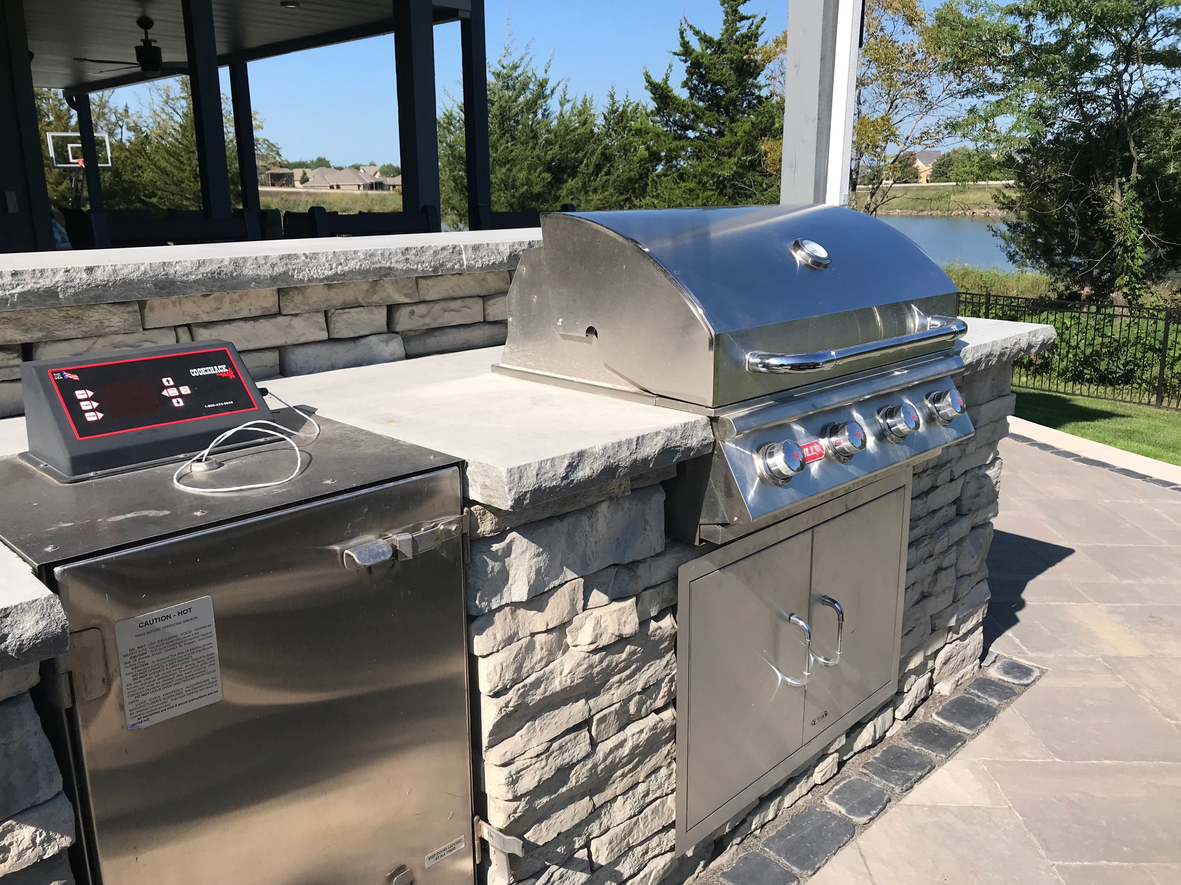 What better to go with your patio area than an outdoor ... on Patio Grill Station id=40687
