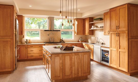 Stock Kitchen Cabinets - Marketplace Cabinetry - Bertch ...