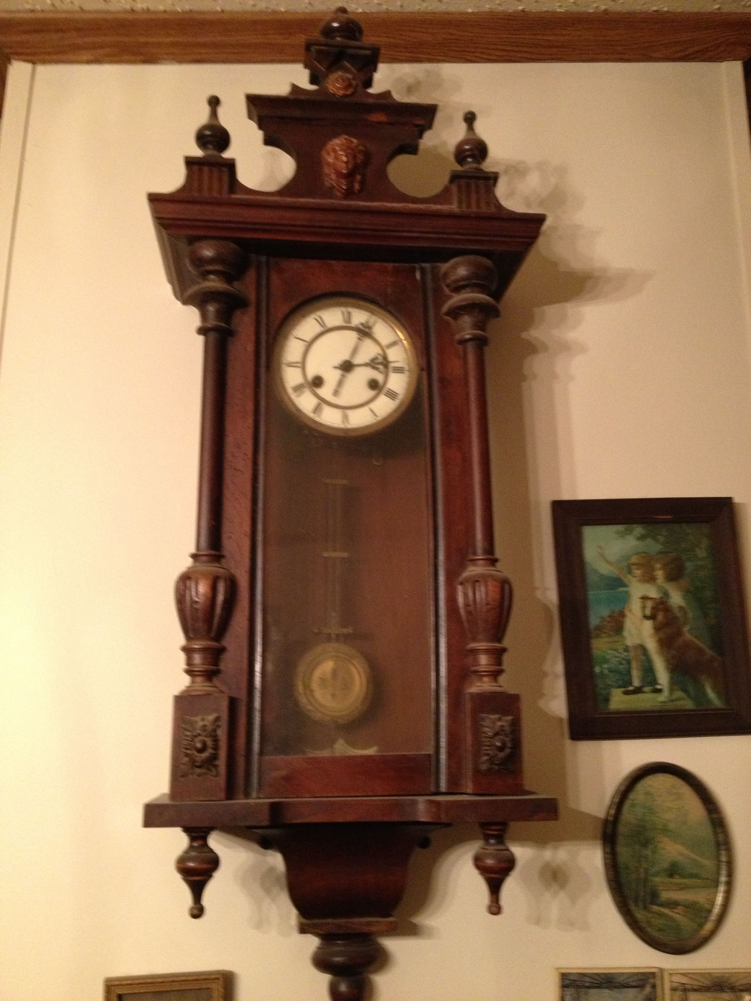 Grandmother Clock Antiques Animals Pinterest Grandmother