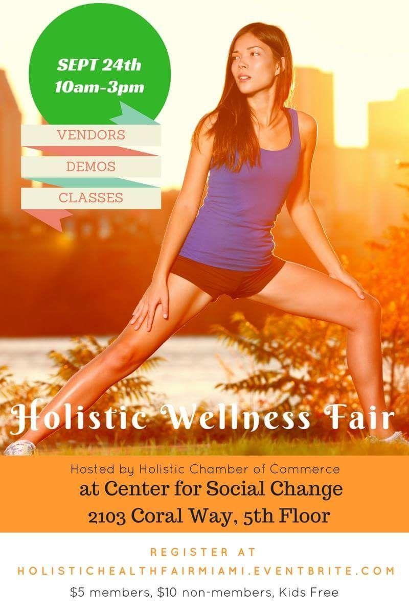 Holistic Wellness Fair Holistic, Wellness, Coral way