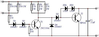 Schematic Transistor Ignition Circuit Diagram